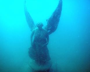 Saros'daki su altı müzesi dalgıçların ilgi odağı oldu