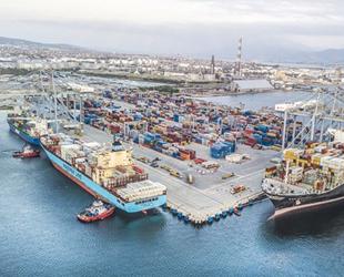 Kocaeli limanlarından 6 milyon 143 bin 163 ton yük elleçlendi