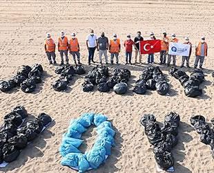 Konyaaltı ve Lara plajlarında kıyı ve dip temizliği yapıldı