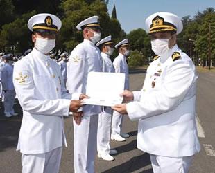 Altınova ve Derince'de 156 denizci mezun oldu