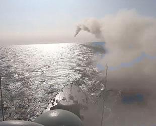 Kafkas 2020 Tatbikatı'nda Karadeniz'den seyir füzesi fırlatıldı