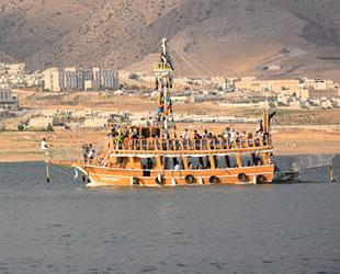 Ilısu Baraj Gölü'ndeki tekneler ruhsatlandırılacak