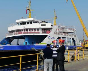 GESTAŞ'ın Lapseki gemisi, Haliç Tersanesi'nde bakıma alındı