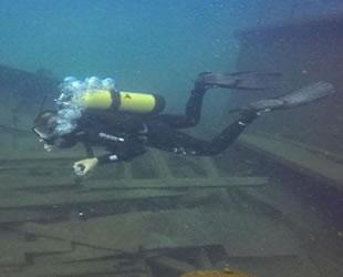 Van Gölü'nün derinliklerindeki gizem dalışlarla gün yüzüne çıkıyor