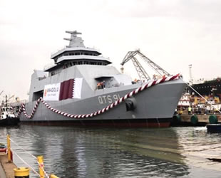 'QTS 91 AL DOHA'da Türk Loydu Askeri Gemi Kuralları uygulandı