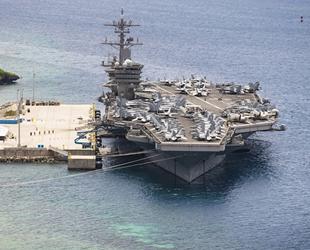 ABD uçak gemisinde bir denizci intihar etti