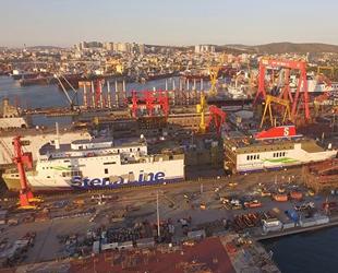 Stena Lagan ve Stena Mersey isimli gemiler, Sedef Tersanesi'nde 36 metre uzatılacak