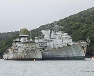 Fotoğrafçı Bob Thissen, terk edilmiş savaş gemilerinin içini görüntüledi