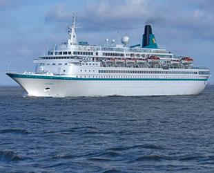 Albatros isimli kruvaziyer gemisi, otel oluyor