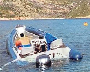 Uyuşturucu taşıyan tekne, Kiritha Adası'nda kayalıklara çarptı