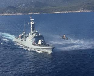 Doğu Akdeniz'de 'Hücümbot-Taarruz Helikopteri Müşterek Eğitimleri' icra edildi