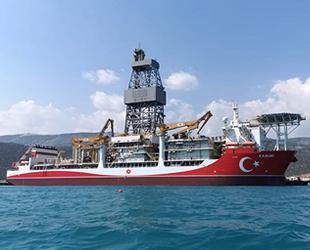 Kanuni sondaj gemisi, çalışmalarına Ocak ayında başlayacak