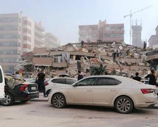 İzmir'de 6.6 büyüklüğünde deprem oldu