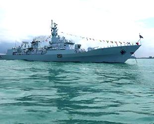 Pakistan Donanması'na ait gemi Türkiye'de uluslararası deniz tatbikatına katıldı