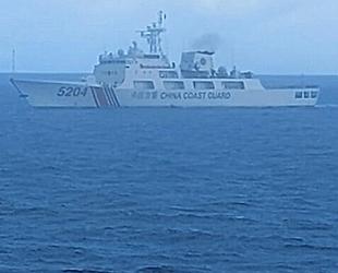 Çin Sahil Güvenlik gemileri, 283 gün Senkaku adaları etrafında devriye gezdi