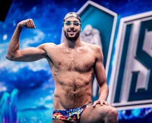 Milli yüzücü Emre Sakçı durdurulamıyor! Bir Avrupa rekoru daha kırdı!