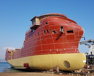 Cemre Tersanesi, Esvagt-3 isimli gemiyi denize indirdi