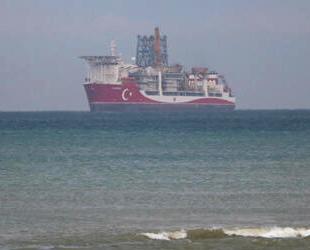 'Kanuni' Sondaj gemisi, Zonguldak'a ulaştı