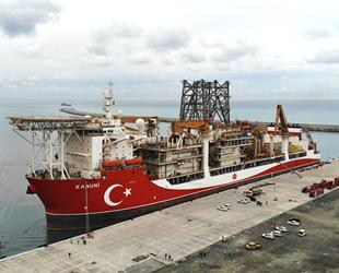 Kanuni sondaj gemisi, Filyos Limanı'na demirledi