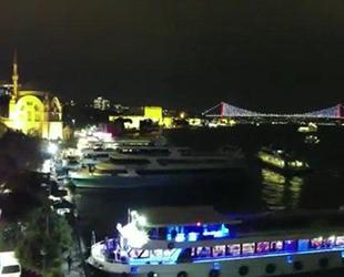 Drone ile tespit edilen teknedeki eğlenceye ceza yağdı