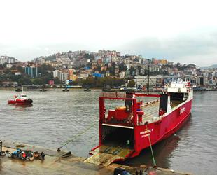 Zonguldak'tan Rusya'ya Ro-Ro seferleri başladı