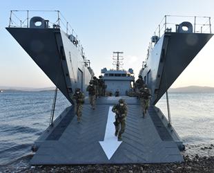 TSK, Ege Denizi'nde ortak eğitim gerçekleştirdi