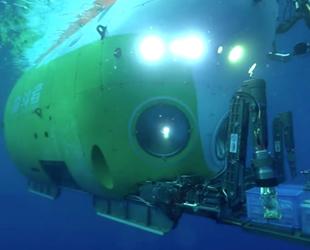 Fendouzhe isimli Çin denizaltısı, 11 km derinliğe daldı