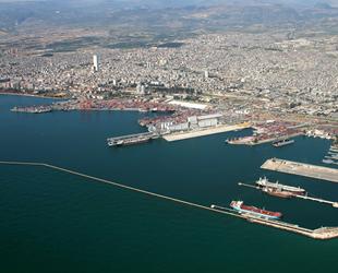 Mersin Uluslararası Limanı, iş hacminde rekor kırdı
