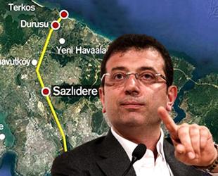 İBB Başkanı Ekrem İmamoğlu'nun 'Kanal İstanbul' savunmasının detayları ortaya çıktı