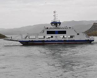 Tunceli'de feribot seferlerinde koronavirüs düzenlemesi yapıldı