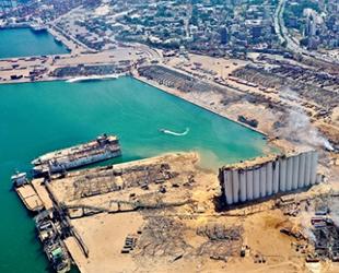 Beyrut Limanı'ndaki tehlikeli maddeleri Almanlar imha edecek