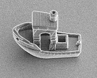 Saç kılından ince tekne, insan vücudunda ilaç taşıyacak