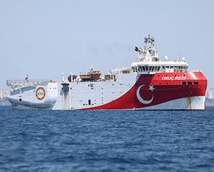 Oruç Reis sismik araştırma gemisi, 2 bin 806 kilometre veri toplayacak