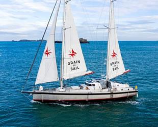 Yelkenli kargo tekneleri, ilk Atlantik seferini Fransa'dan yapıyor