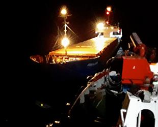 HIMALAYA isimli kuru yük gemisi, Çanakkale Boğazı'nda sürüklendi