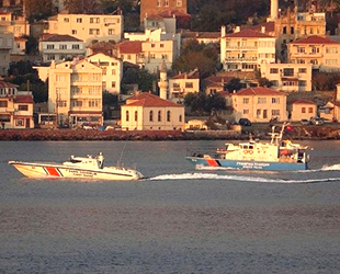 Bulgaristan devriye gemisi, Çanakkale Boğazı'ndan geçti