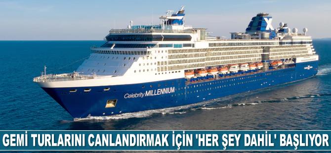 Gemi turlarını canlandırmak için 'Her Şey Dahil' başlıyor