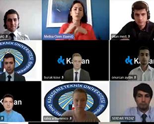 KTÜ DUİM 15. Geleneksel Kariyer Günleri, çevrimiçi olarak gerçekleştirildi