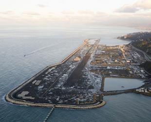 Rize-Artvin Havalimanı'nda altyapı çalışmalarının yüzde 85'i tamamlandı