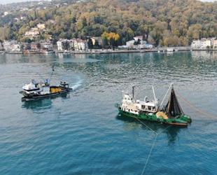 Sarıyer'de avlanan balıkçı tekneleri tartışma konusu oldu