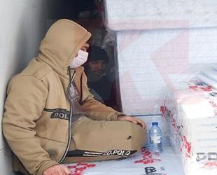Mağusa Limanı'nda operasyon: Araç içinde 4 mülteci bulundu