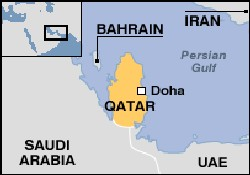 Katar ve Bahreyn şeyhleri geliyor
