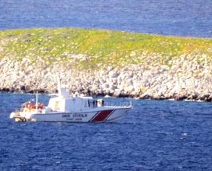 Türk Sahil Güvenlik ekipleri, Kardak'ta kuş uçurtmuyor