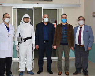 GESTAŞ, Pandemi Hastanesi'ne 25 adet HEPA filtreli solunum cihazı bağışladı