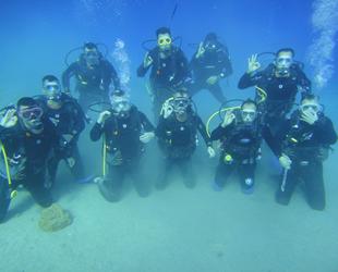 Sualtı arama kurtarma ekibi, dalış eğitimini tamamladı