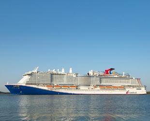 Carnival Cruise Line 4. LNG tahrikli yolcu gemisini teslim aldı