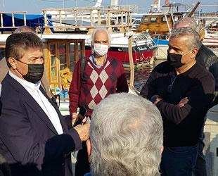 Gazimağusa Limanı'ndaki yıkılan ahşap iskele tamir edilecek