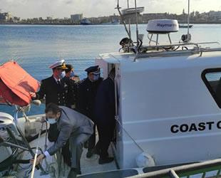 Türkiye, Libya'ya 2 adet Sahil Güvenlik botu hibe etti