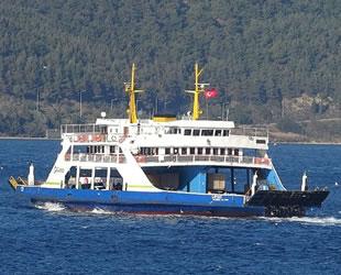 Gökçeada ve Bozcaada'ya bazı feribot seferleri iptal edildi