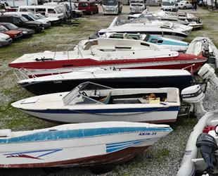 Muğla'da yüzlerce tekne çürümeye terk edildi